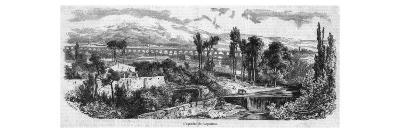 The Roman Aqueduct at Carpentras--Giclee Print