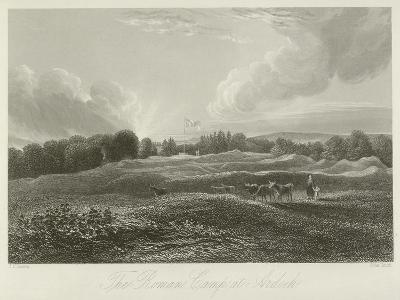 The Roman Camp at Ardoch--Giclee Print