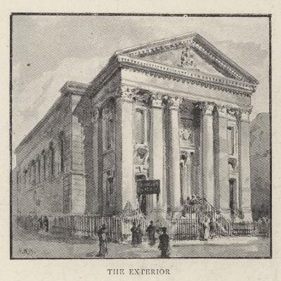 The Roman Catholic Church of St Mary, Moorfields, City, Which Is About to Be Pulled Down-Henry William Brewer-Giclee Print