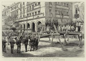 The Roman Catholic Congress at Saragossa
