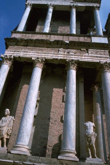 The Roman Theatre at Merida, 1st century BC-Unknown-Photographic Print