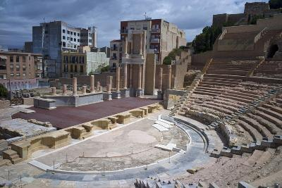 The Roman Theatre, Cartagena, Spain-Rob Cousins-Photographic Print