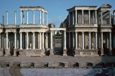 The Roman Theatre in Merida, Spain, 1st Century Bc-CM Dixon-Photographic Print