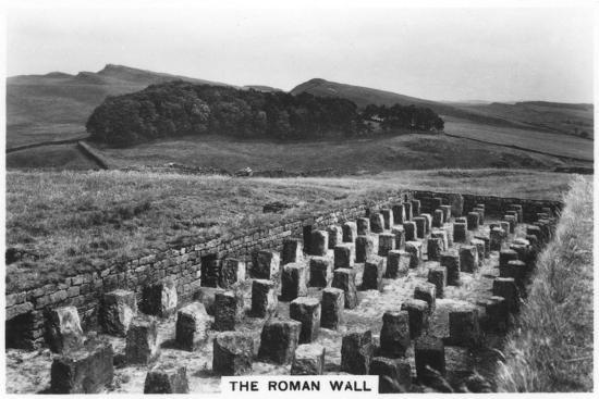 The Roman Wall, Housesteads, Northumberland, 1937--Giclee Print
