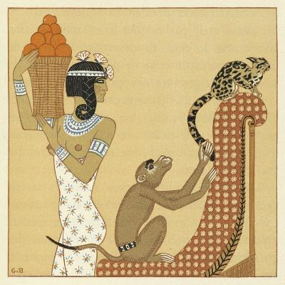 The Romance of a Mummy-Georges Barbier-Giclee Print