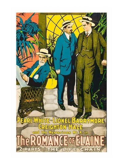 The Romance of Elaine--Art Print