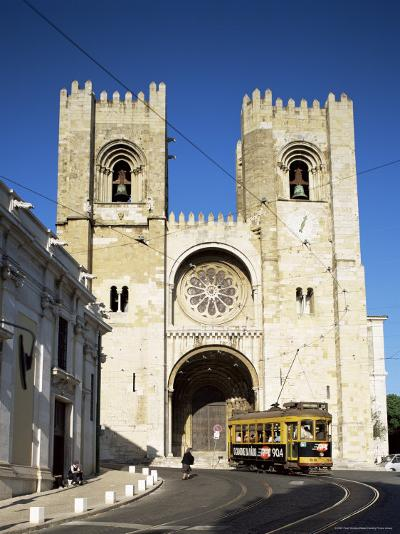The Romanesque Style Se (Cathedral), Lisbon, Portugal-Peter Scholey-Photographic Print