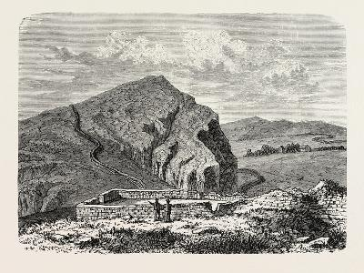 The Romans in Britain: Remains of the Wall of Severus--Giclee Print