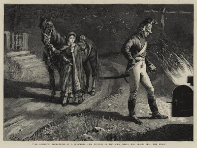 The Romantic Adventures of a Milkmaid, Jim Stopped at the Kiln, While Mrs Peach Held the Horse--Giclee Print