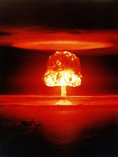 The Romero Shot, Was a Hydrogen Bomb That Yielded 11 Megatons of Energy--Photo