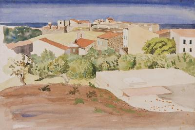The Roofs of Collioure, C.1925-Rudolph Ihlee-Giclee Print