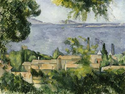 The Rooftops of L'Estaque, 1883-85-Paul C?zanne-Giclee Print
