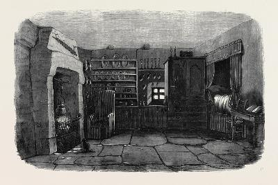 The Room in Which Burns Was Born the Burns Centenary--Giclee Print