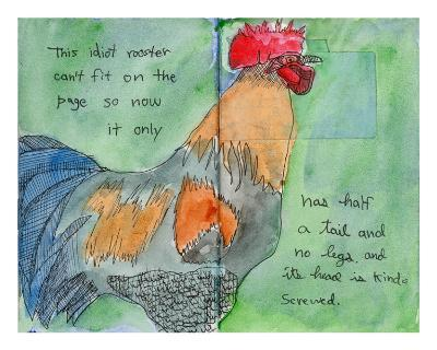 The Rooster-John Woolley-Limited Edition
