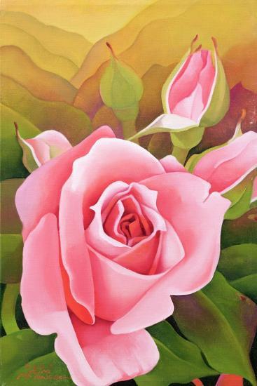 The Rose, 2002-Myung-Bo Sim-Giclee Print