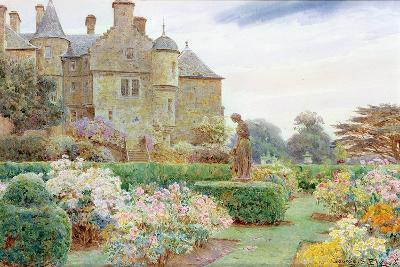 The Rose Garden, Balcaskie-George Samuel Elgood-Giclee Print