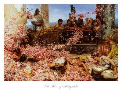 The Roses of Heliogabalus-Sir Lawrence Alma-Tadema-Art Print