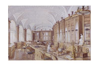 The Rossi Library in the Pavlovsk Palace-Anatoly Vladimirovich Treskin-Giclee Print