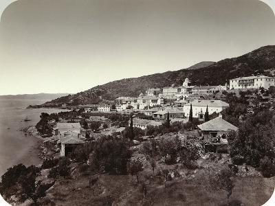 The Rossikon (St Panteleimon Monaster) on Mount Athos, Greece, 1860S--Giclee Print