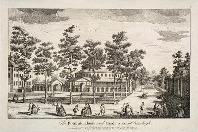 The Rotunda and Ranelagh House in Ranelagh Gardens, Chelsea, London, C1750--Giclee Print
