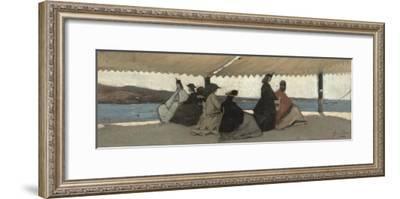 The Rotunda at Palmieri, 1866-Giovanni Fattori-Framed Giclee Print