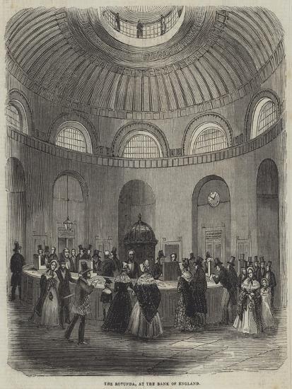 The Rotunda, at the Bank of England--Giclee Print