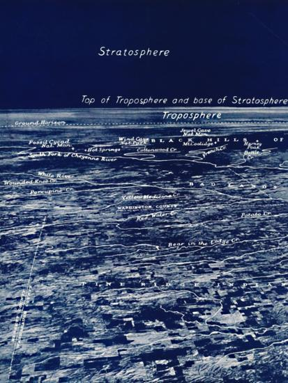'The Rotundity of the Earth From The Stratosphere', 1935-Unknown-Photographic Print