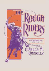 The Rough Riders: An Equestrian Scene