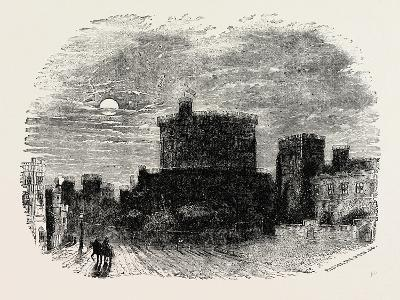 The Round Tower Windsor Castle--Giclee Print
