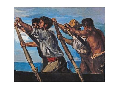 The Rowers-Hans Von Marees-Giclee Print