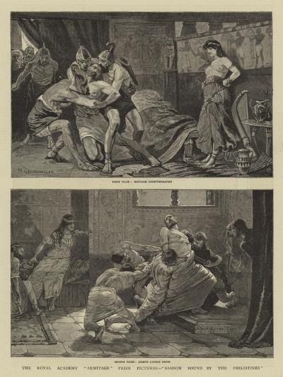 The Royal Academy Armitage Prize Pictures, Samson Bound by the Philistines--Giclee Print