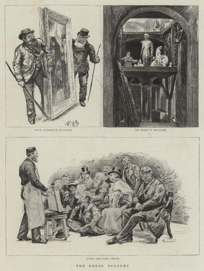 The Royal Academy-Charles Paul Renouard-Giclee Print