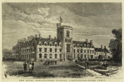 The Royal Agricultural College, Cirencester, South Front--Giclee Print
