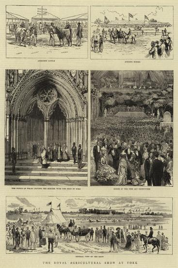 The Royal Agricultural Show at York--Giclee Print
