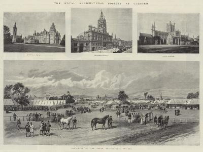 The Royal Agricultural Society at Chester--Giclee Print