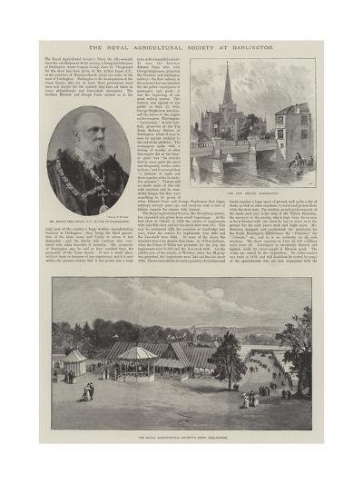 The Royal Agricultural Society at Darlington--Giclee Print
