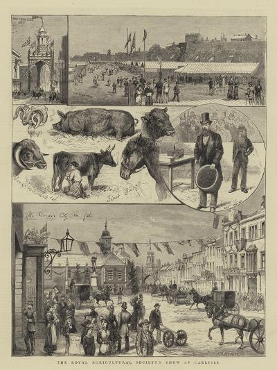 The Royal Agricultural Society's Show at Carlisle--Giclee Print