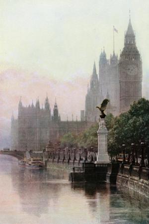 The Royal Air Force Memorial, the Embankment, London, C1930S