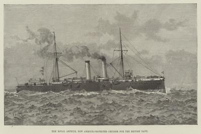 The Royal Arthur, New Armour-Protected Cruiser for the British Navy--Giclee Print