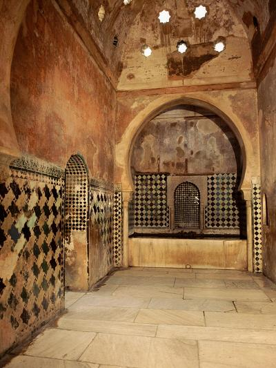 The Royal Baths in the Harem--Giclee Print