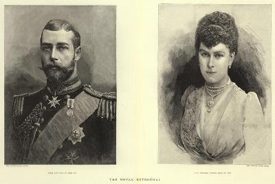 The Royal Betrothal--Giclee Print