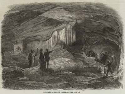 The Royal Caverns at Jerusalem--Giclee Print