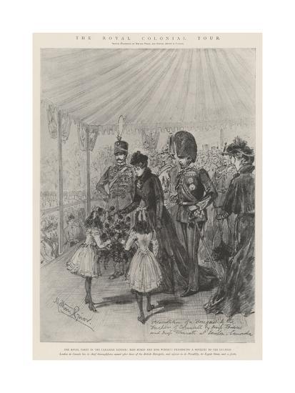 The Royal Colonial Tour-Melton Prior-Giclee Print