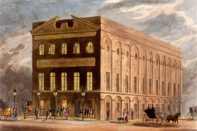 The Royal Couborg Theatre, 1826-Daniel Havell-Giclee Print
