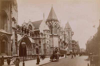 The Royal Courts of Justice--Photographic Print