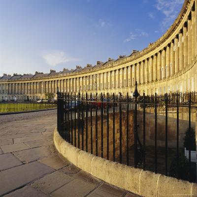 The Royal Crescent, Bath, Avon & Somerset, England-Roy Rainford-Photographic Print