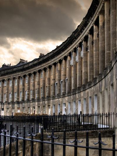The Royal Cresecent in Bath, England-Tim Kahane-Photographic Print