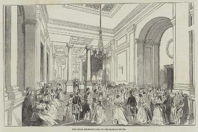The Royal Exchange Ball at the Mansion House--Giclee Print