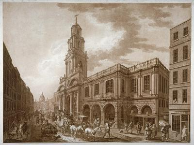 The Royal Exchange, City of London, 1788-Francesco Bartolozzi-Giclee Print