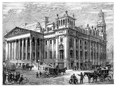 The Royal Exchange, Manchester--Giclee Print